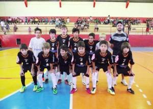Equipe Sub-13 Palmas Futsal