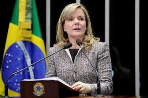 """""""Desde 2010, nós investimos R$ 825 bilhões em saúde e educação"""", comparou a senadora"""