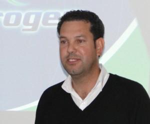 Edson Cassaniga, diretor do departamento de agricultura