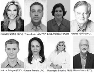 Conheça os candidatos à vice-governador