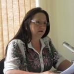 Secretária da Mulher Anastácia F. da Silva.