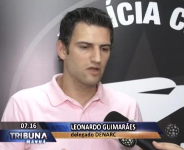 Delegado Leonardo Guimarães.