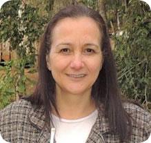 Lucinda Ribeiro da Rosa, prefeita de Flor da Serra do Sul. Foto: Site prefeitura