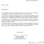 OFICIO REITOR ADUNIOESTE