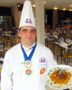Cheff Jorge Giacchini, membro da coordenação do concurso. Foto: Arquivo pessoal