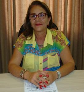 Vereadores Lurdes Pazinni (PMDB), autora do projeto. Foto: Divulgação