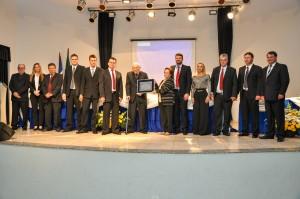 Ex-Prefeito João Maria recebe Título de Cidadão Honorário de Salto do Lontra. A Sessão Solene aconteceu nesta segunda-feira, 24. Crédito Foto: Edimar Morgan.