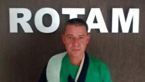 Orlando Martins de Alencar, 37 anos, foi encaminhado à delegacia. Foto: Polícia Militar