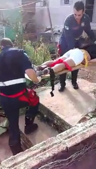 Agelita chegou a ser socorrida pela Defesa Civil, mas morreu a caminho do hospital. Foto: Divulgação