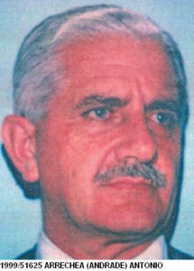 Tenente-coronel Antonio Arrechea Andrade