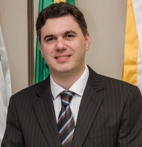Vereador Cleber Fontana (PSDB), autor do projeto.