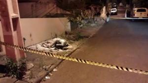 Crime aconteceu no Bairro da Cango. Foto: Arquivo RBJ