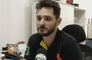 Promotor Roberto Tonon Junior será o coordenador do Gaeco. Foto: Reprodução Rede Massa/SBT