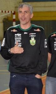 Nelsinho Bavier, técnico do Cresol/Marreco. Foto: Ademir Macagnan