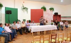 Evento contou com a presença de autoridades de Beltrão e Bom Sucesso do Sul. Foto de divulgação