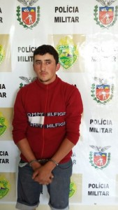 "Michel Vasconcelos, popular ""Gambeta"", 21 anos. Foto: Polícia Militar"