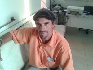 Jurandir Gilberto Sutil de Oliveira, cumprimento de mandado judicial. Foto: Polícia Militar