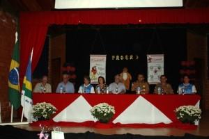 Lideranças e autoridades reforçaram os benefícios do programa. Foto de divulgação