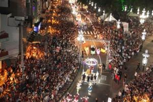 Abertura da programação 2014 atraiu milhares de pessoas. Foto: Arquivo prefeitura