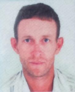 Charles Alvicio de Paulus, 38 anos.