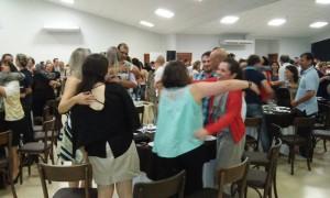 Participantes interagiram em vários momentos com o palestrante. Foto: Evandro Artuzi/RBJ