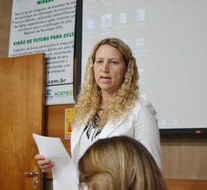 Mara Raiciki, presidente da Apec e coordenadora o Núcleo Alto da Júlio. Foto: Darce Almeida