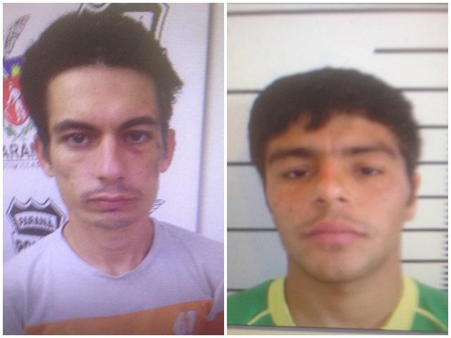 """Ezequias Antonelli, popular """"Gringo"""", e Sérgio Mariano de Oliveira são procurados pela polícia."""
