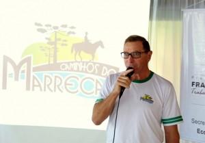 Adelino Menegatti, presidente da associação Caminhos do Marrecas. Foto: Assessoria