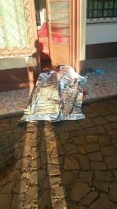 Ledinei foi morto na porta da própria casa. Foto: Arquivo RBJ