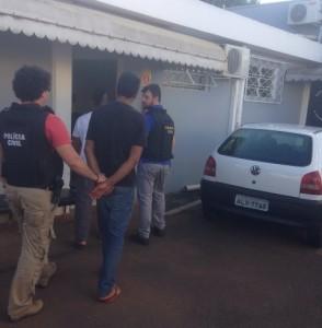 Acusados foram autuados em flagrante na 19ª SDP. Foto: Polícia Civil