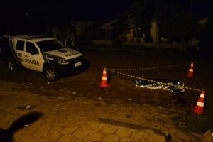 Gilmar foi morto na rua, em frente a um clube de dança. Foto: Douglas Kichel
