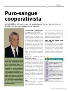 Matéria da Revista Sicoob (Ano1 - Nº 1 - Jan/Fev/Mar 2010) - Clique para ampliar