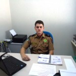 Comandante da Polícia Militar de Chopinzinho, Aspirante Haesbaert.
