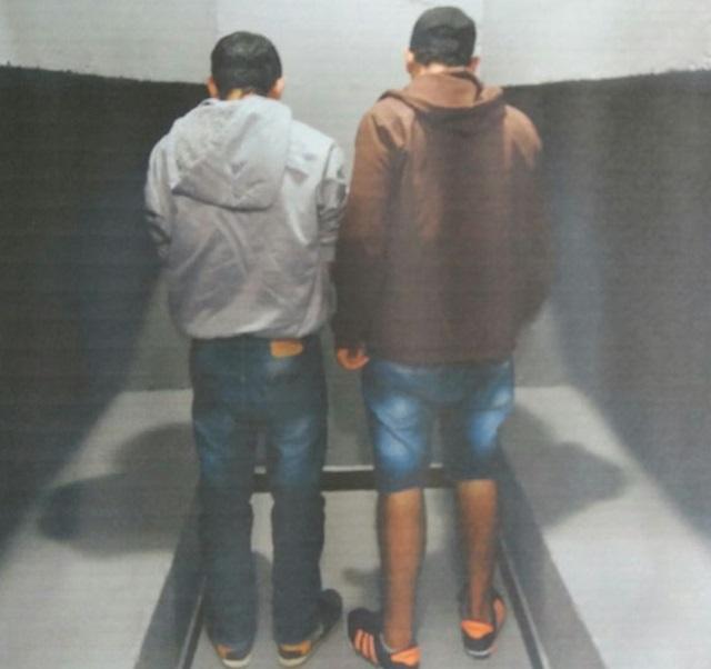 Diego e Jean foram encaminhados à carceragem da 5ª SDP de Pato Branco. Foto de divulgação
