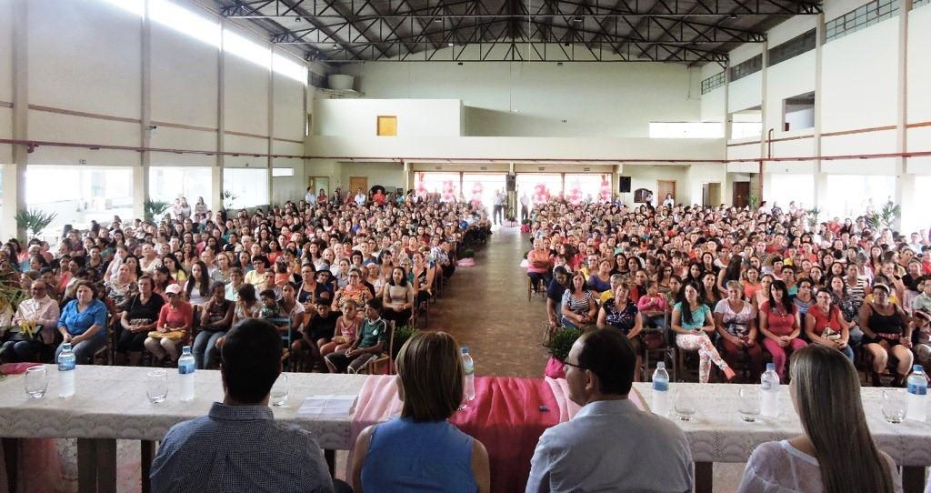 Mais de mil mulheres participaram do evento. Foto: Edson Zuconelli.
