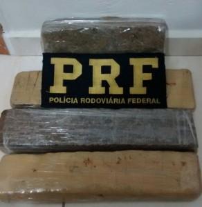Droga seria entregue em Clevelãndia. Foto: PRF