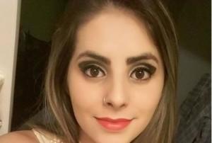 Camila Alexandra Galvão, 21 anos. Foto reproduzida do Facebook