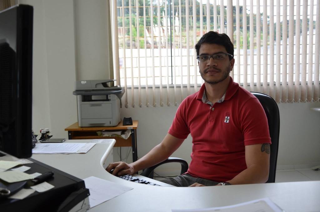Na foto: André Luís Matias, Chefe de Cartório da 32ª Zona Eleitoral