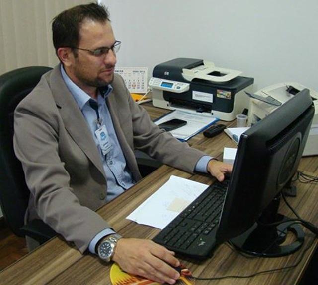 Claiton Charles Comin, contador do Legislativo. Foto de divulgação