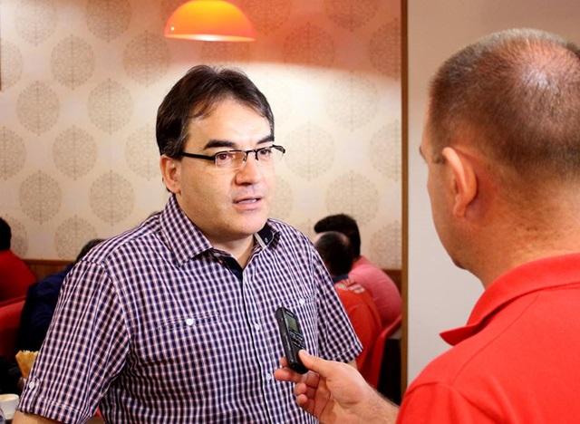 Antonio Cantelmo Neto (PMDB) afirmou em entrevista que é candidato a reeleição. Foto: Divulgação