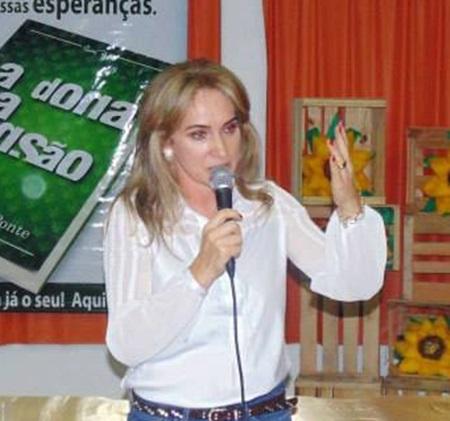 Jovelina Chaves, presidente do PV Francisco Beltrão. Foto: Arquivo RBJ