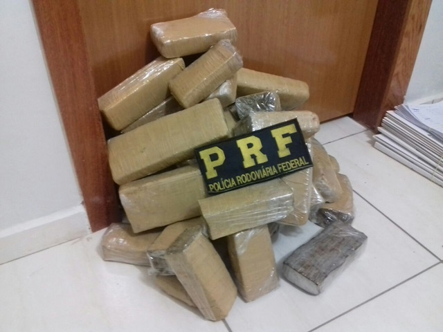 Droga foi entregue na delegacia de Polícia de Realeza. Foto: PRF