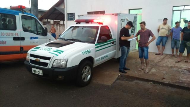 Corpo de trabalhador foi recolhido pelo IML de Francisco Beltrão. Foto: Douglas Kichel