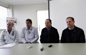 Entrevista coletiva / Foto: Francione Pruch