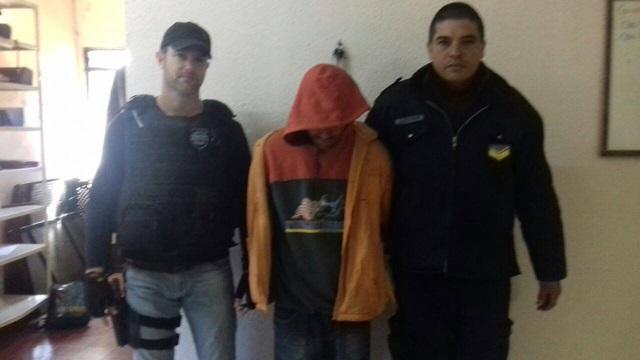 Pedro de Souza foi entregue às autoridades Brasileiras. Foto de divulgação