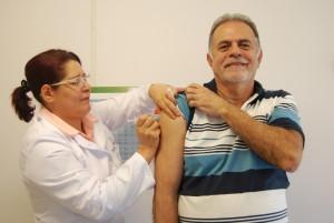 A campanha de vacinação contra a gripe começa nesta segunda-feira (25) Foto:SESA