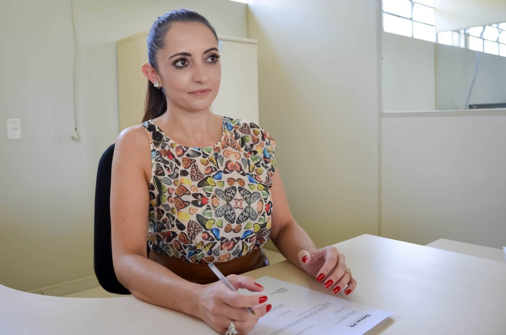 Na foto: Larissa Feitosa, Chefe da Ciretran de Palmas / PR
