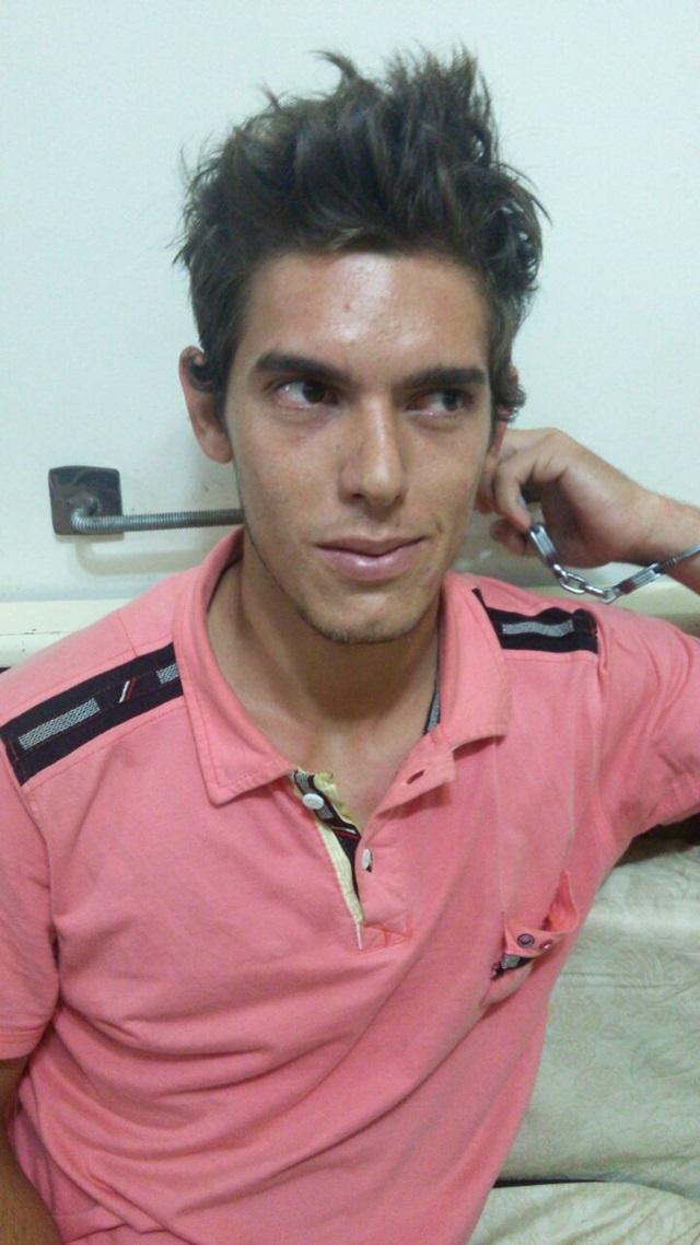 Cleverson Nunes dos Santos, 19 anos. Foto: Polícia Militar