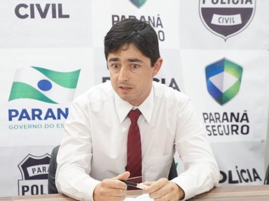 Delegado Marcos Mauricio Pestano deve assumir delegado de Clevelândia. Foto:? Arquivo RBJ
