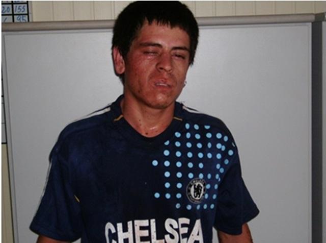 Jonas Batista de Lima, 23 anos. Foto: Divulgação da Polícia Militar